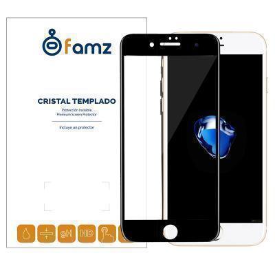 aeb9fc8d98d ... Protector de pantalla iPhone 7 Plus / iPhone 8 Plus cristal templado 5D  marco negro. Product Big image. Product Big image